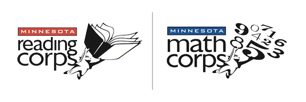 Minnesota Reading and Math Corps logo