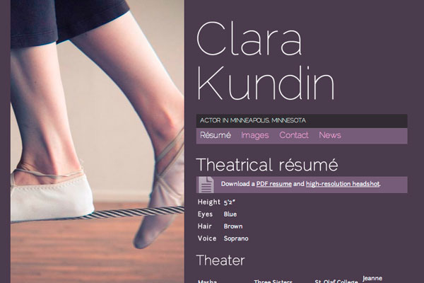Clara Kundin screenshot