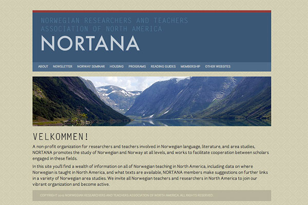NORTANA screenshot