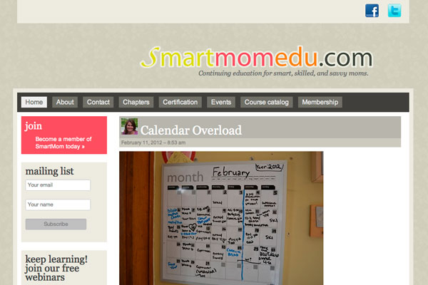 SmartMomEDU screenshot