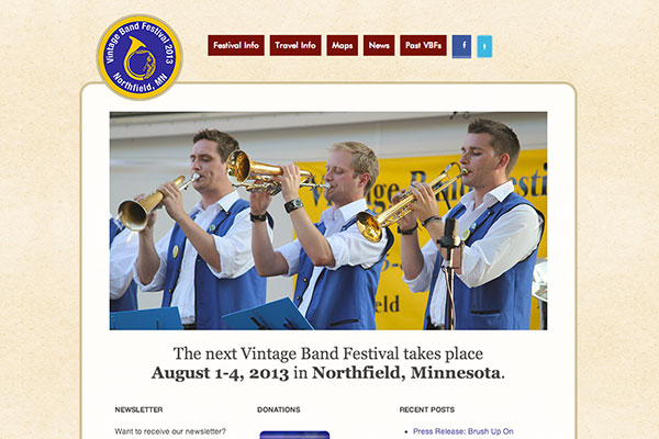 Vintage Band Festival screenshot